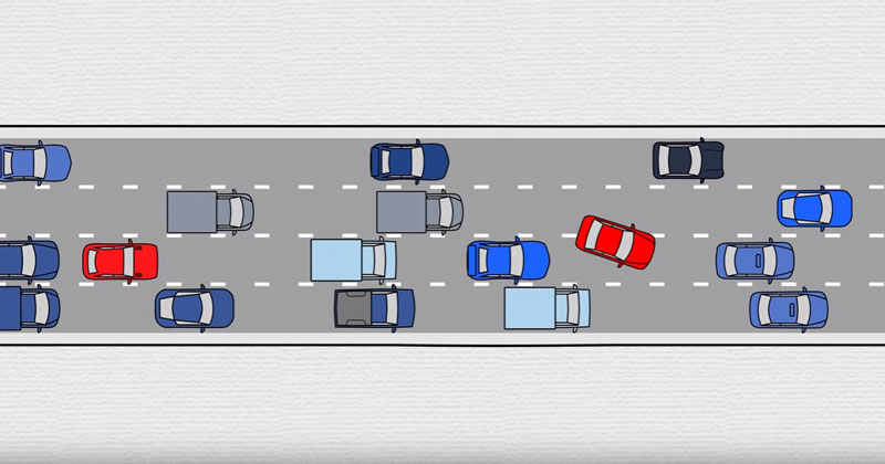 How Bad Drivers Create Traffic