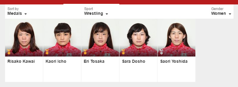 japanese womens wrestling team 2016 olympics rio The Japanese Wrestling Team and Their Coach Had the Best Celebrations at the Olympics
