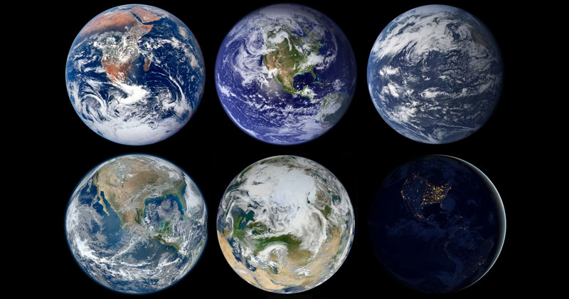 Picture Of The Day Nasa Earth Marbles 171 Twistedsifter
