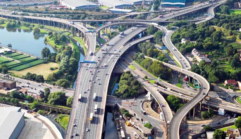 original spaghetti junction birmingham england Picture of the Day: The Original Spaghetti Junction
