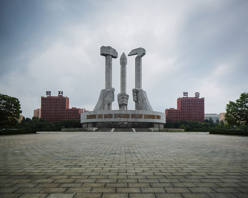 Pyongyang North Korea Vintage Architecture Photo Essay by Raphael Olivier (2)