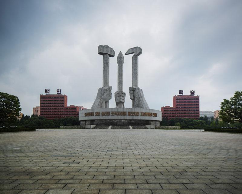 Pyongyang North Korea Vintage Architecture Photo Essay by Raphael Olivier (2)