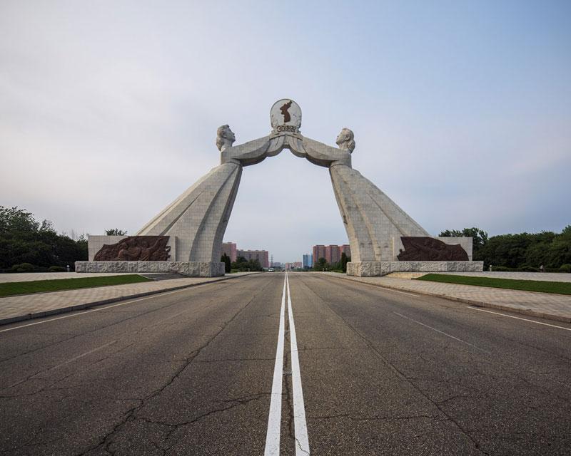 Pyongyang North Korea Vintage Architecture Photo Essay by Raphael Olivier (3)