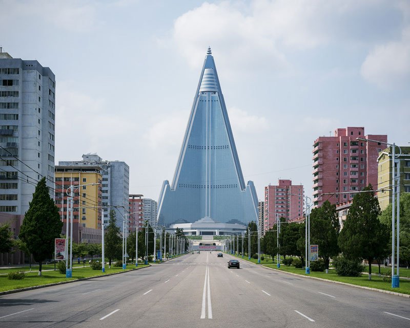Pyongyang North Korea Vintage Architecture Photo Essay by Raphael Olivier (5)