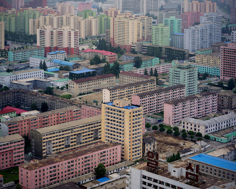 Pyongyang North Korea Vintage Architecture Photo Essay by Raphael Olivier (8)