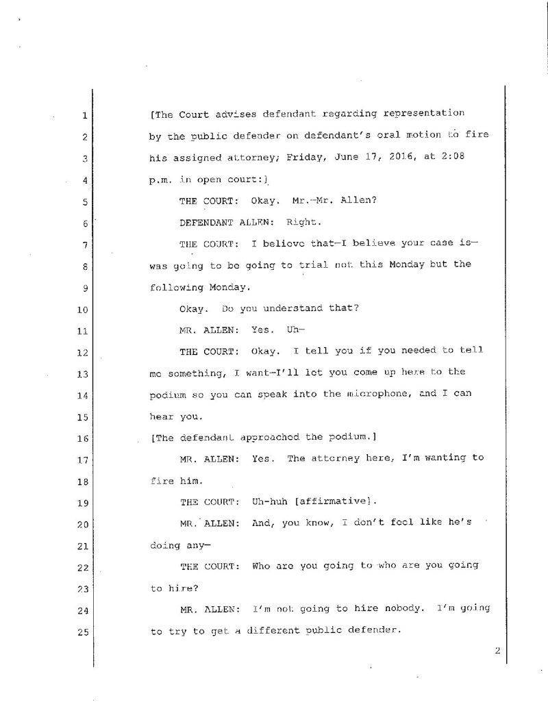 State of Georgia vs Denver Fenton Allen Court Transcript (2)