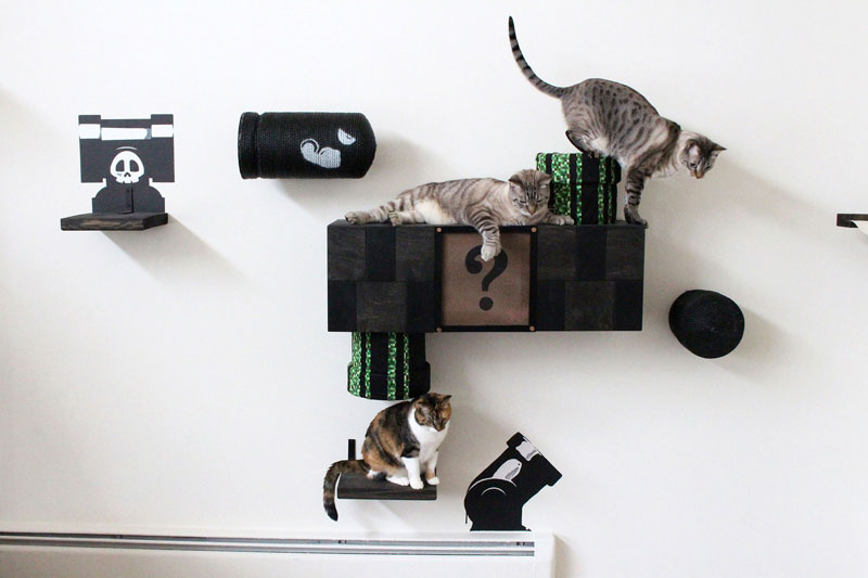 super mario cat furniture by catastrophic creations (11)