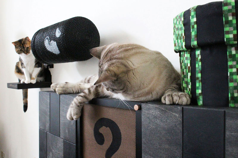 super mario cat furniture by catastrophic creations (12)