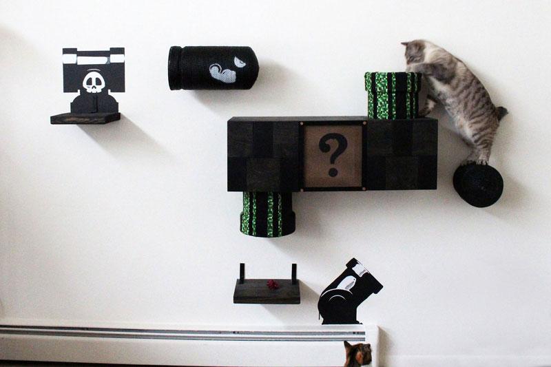 super mario cat furniture by catastrophic creations (2)