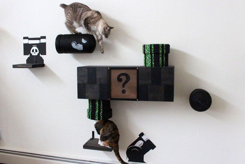 Beau Super Mario Cat Furniture By Catastrophic Creations (5)