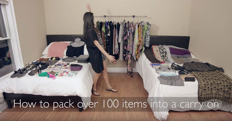 woman-packs-over-100-items-into-carry-on
