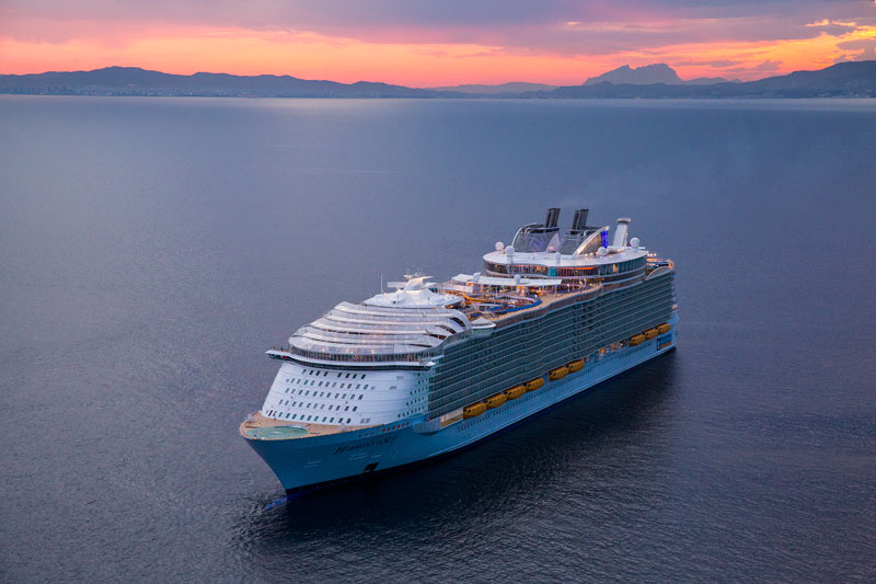 Explore The Beauty Of Caribbean: Worlds Largest Passenger Ship Harmony Of The Seas Royal