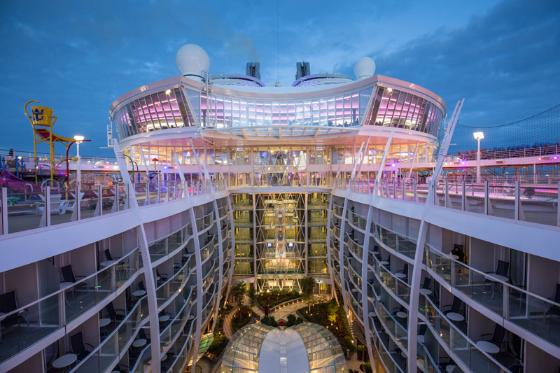 Onboard The Worlds Largest Passenger Ship Photos TwistedSifter - First cruise ship in the world