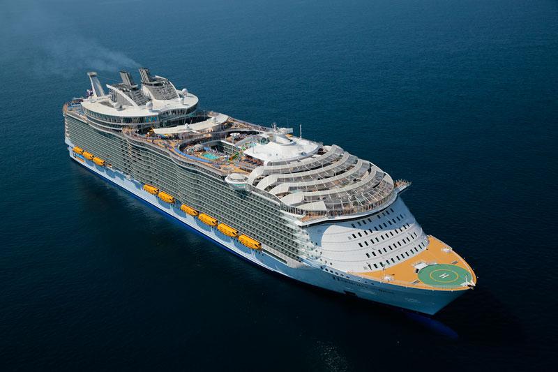 Worlds Largest Passenger Ship Harmony Of The Seas Royal Caribbean 23