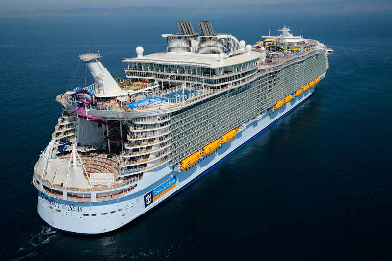Onboard The Worlds Largest Passenger Ship Photos TwistedSifter - List of largest cruise ships