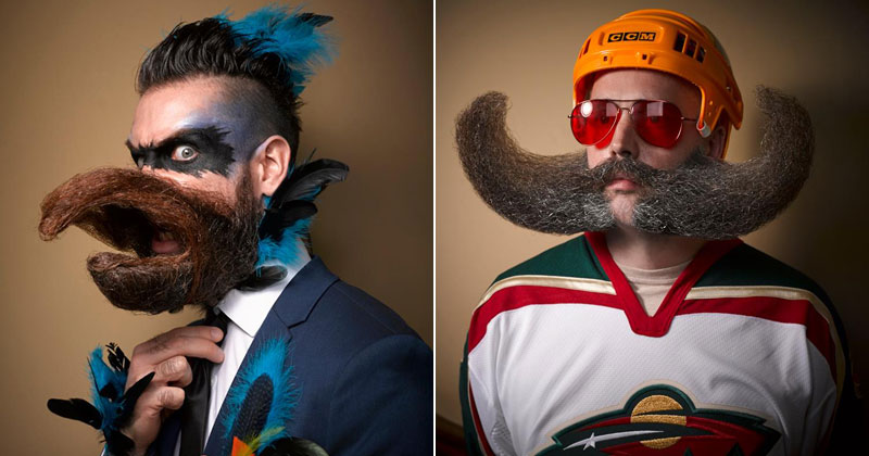 Majestic Highlights from the 2016 National Beard and MoustacheChampionships