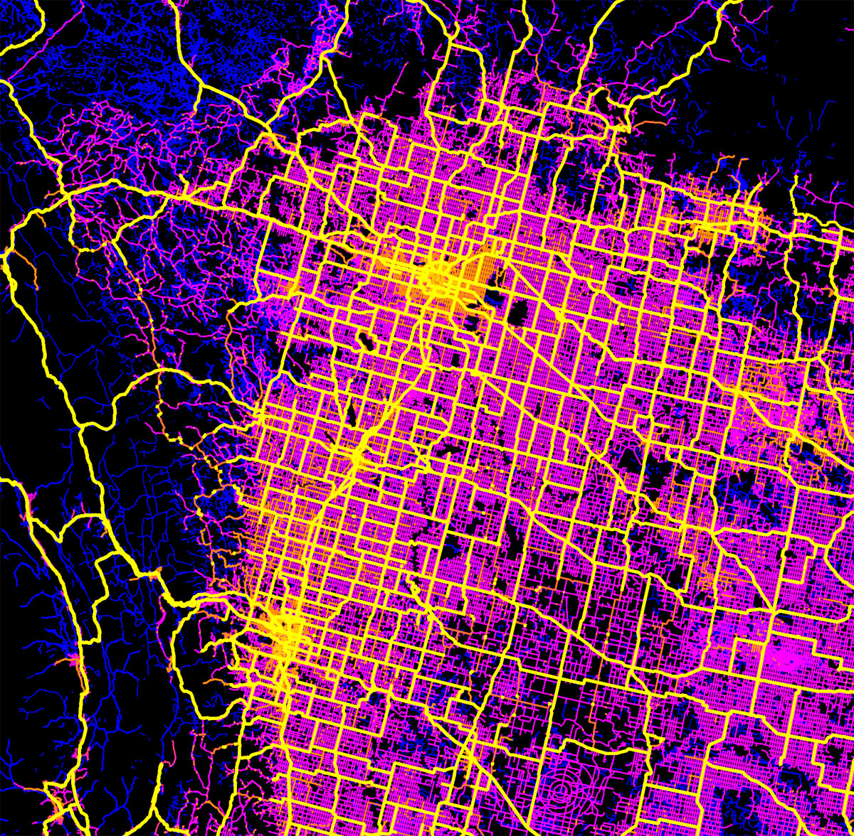 canada mapped by trails roads streets and highways by robbi bishop taylor 4 Canada Mapped by Trails, Roads, Streets and Highways