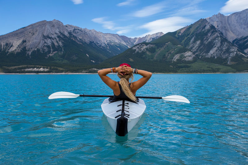 Picture of the Day: Kayaking in Nordegg, Canada