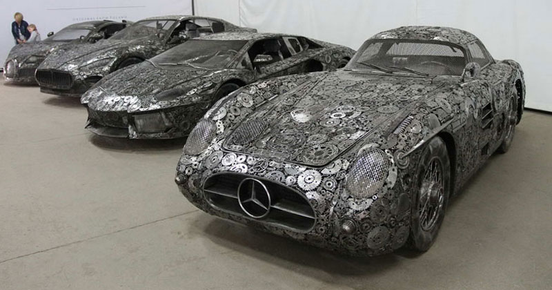 Scrap Metal Supercars (12 Photos)