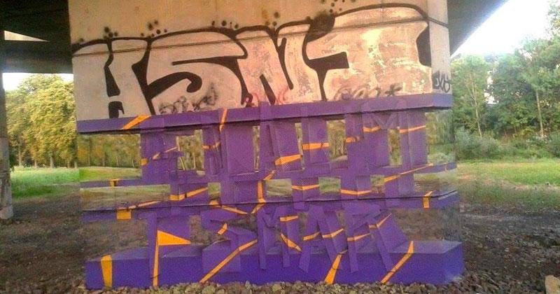 Transparent Graffiti Illusion by MilaneRamsi