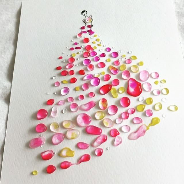 watercolor gowns by jaesuk kim instagram (10)