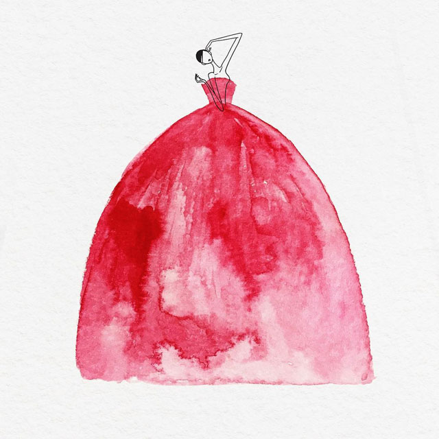 watercolor gowns by jaesuk kim instagram (6)