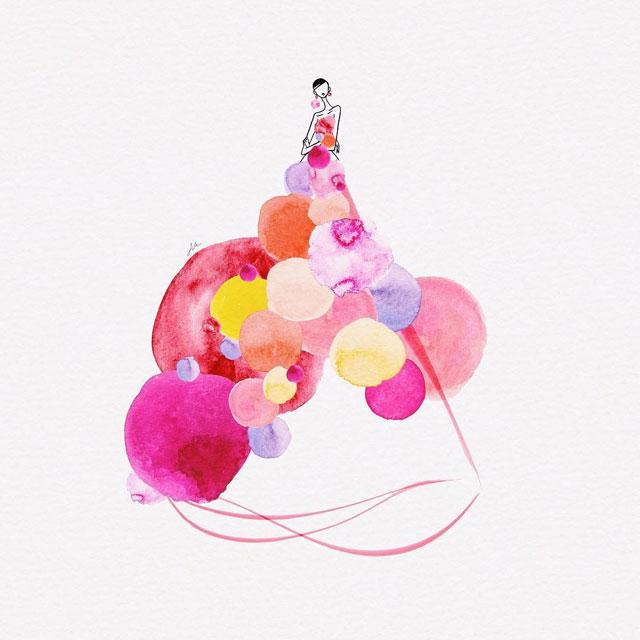 watercolor gowns by jaesuk kim instagram (8)