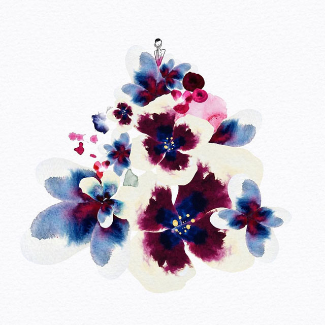 watercolor gowns by jaesuk kim instagram (9)