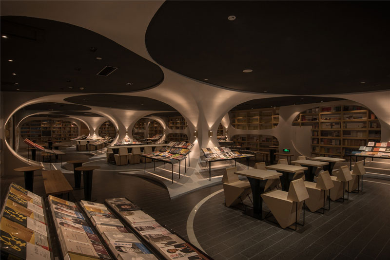 yangzhou zhongshuge by li xiang xl muse xlliving 4 This Futuristic Library in China Looks Incredible (9 Photos)