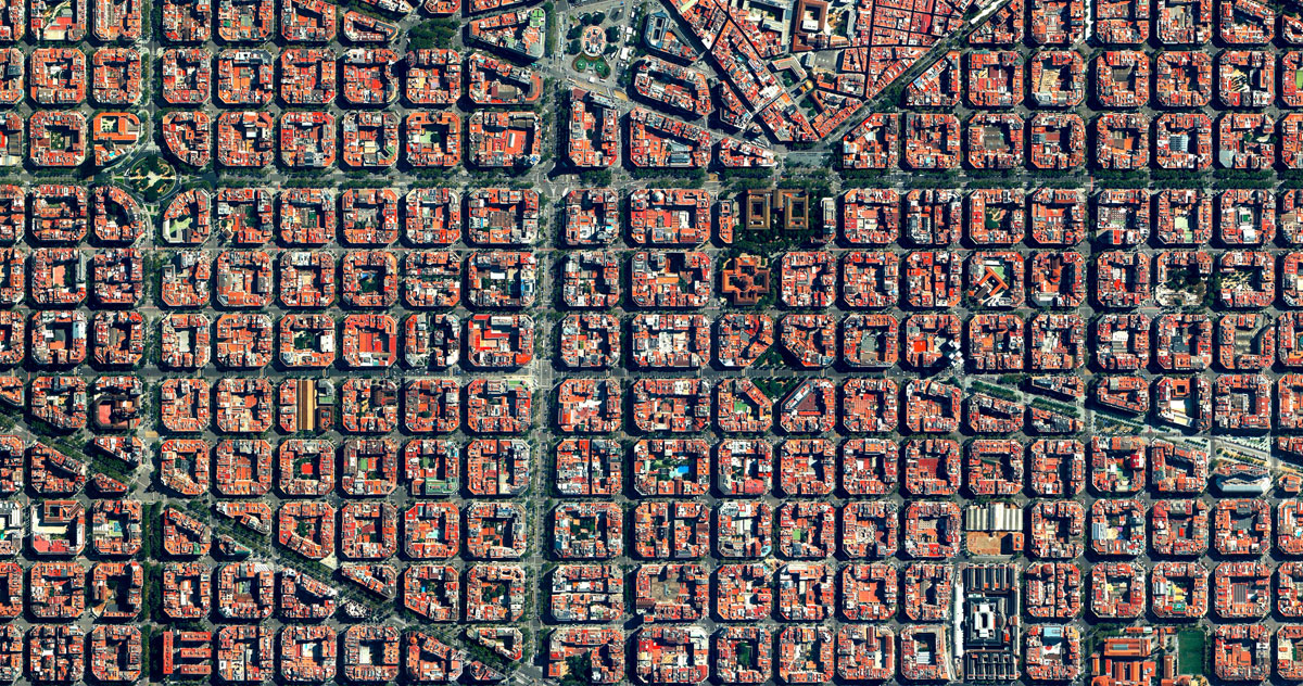 19 eixample 15 High Res Photos That Will Give You a New Perspective on Earth