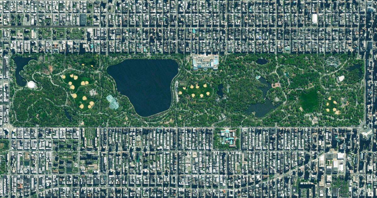 22 central park 15 High Res Photos That Will Give You a New Perspective on Earth