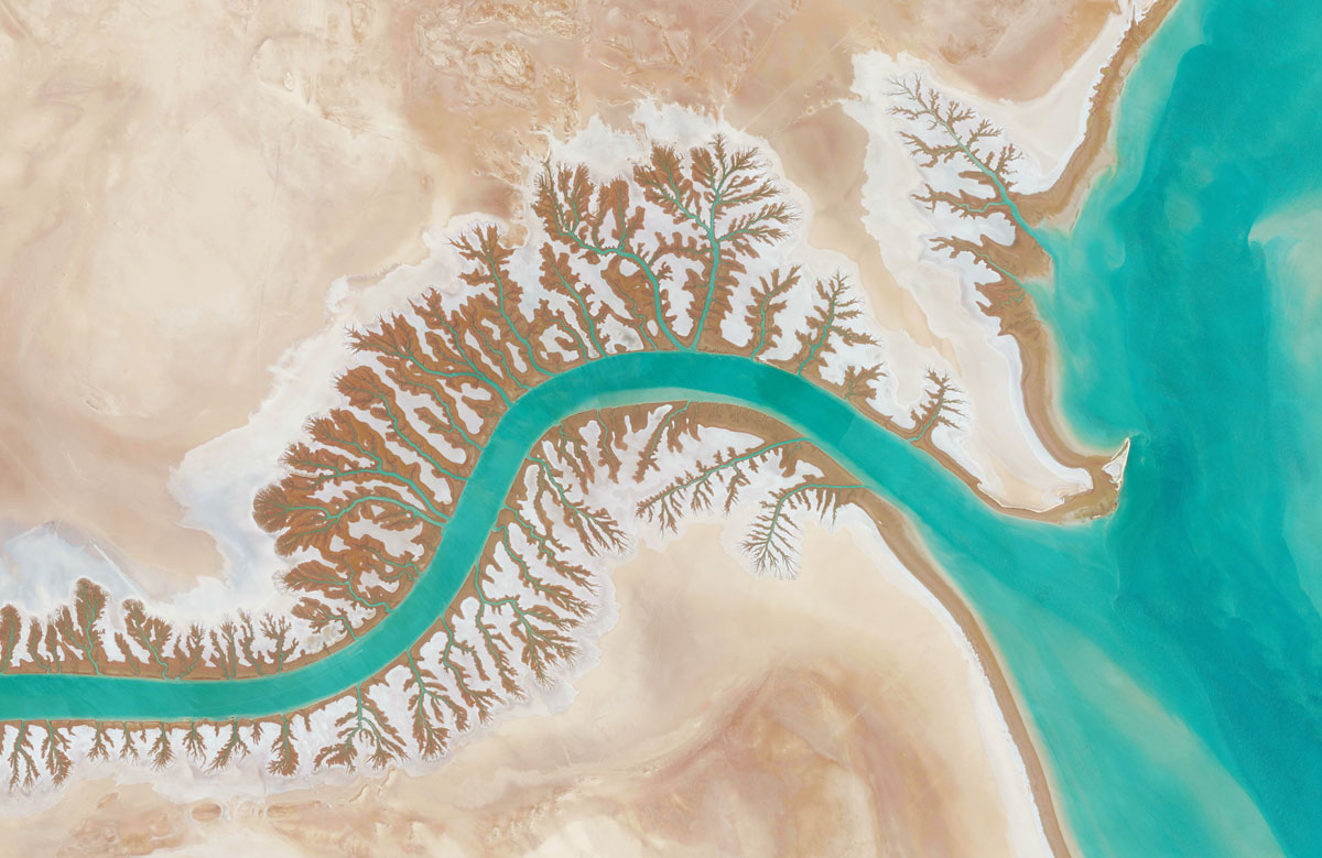 27 shadegan lagoon 15 High Res Photos That Will Give You a New Perspective on Earth