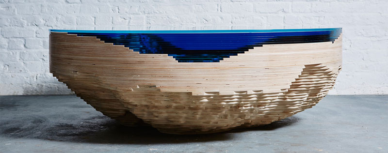 abyss horizon coffee table by christopher duffy 1 Abyss Horizon Coffee Table by Christopher Duffy