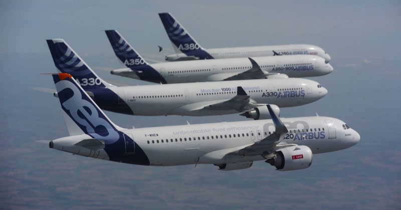 Airbus Family Flight Joy Ride