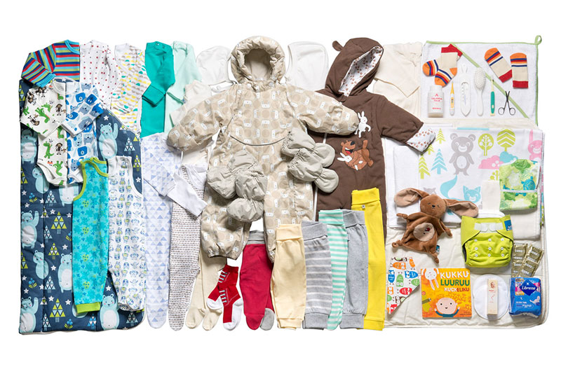 baby box finland 1 Starting Next Year, Every Baby Born in Scotland Will Get a Free Box of Useful Things