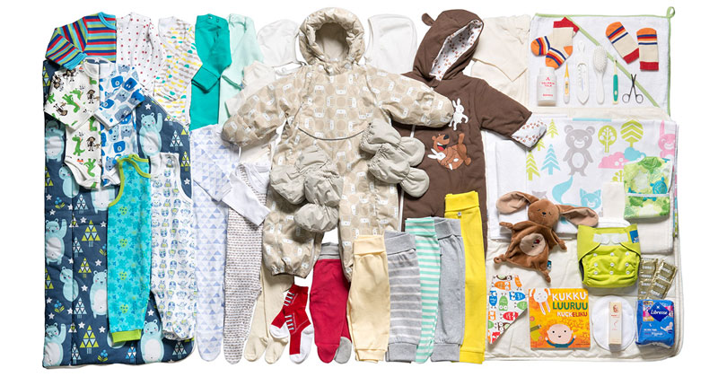Starting Next Year, Every Baby Born in Scotland Will Get a Free Box of UsefulThings