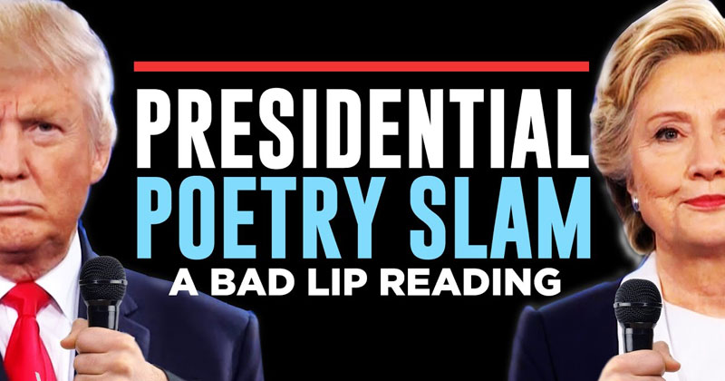 If the Trump Clinton Debate was a Poetry Slam