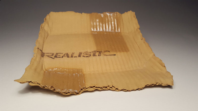 ceramic cardboard by tim kowalczyk 5 Ceramic Artist Tim Kowalczyk Can Make Clay Look Like Cardboard