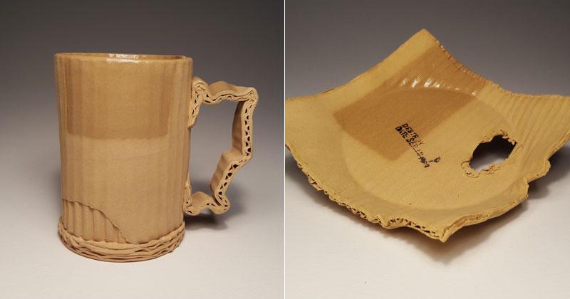 Ceramic Artist Tim Kowalczyk Can Make Clay Look LikeCardboard
