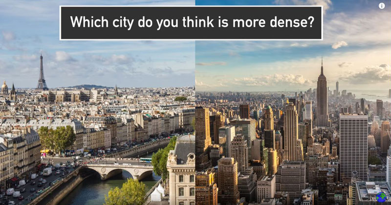 The Differences Between US and European Cities