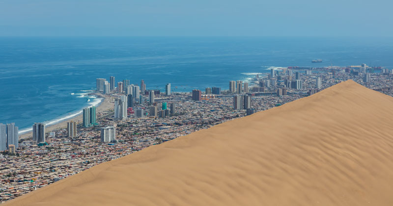 Picture of the Day: The 20,000 Year Old 'Dragon Dune' That Protects a City