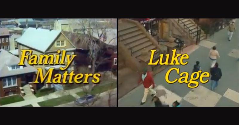 Guy Recreates Family Matters Intro Using Luke CageFootage