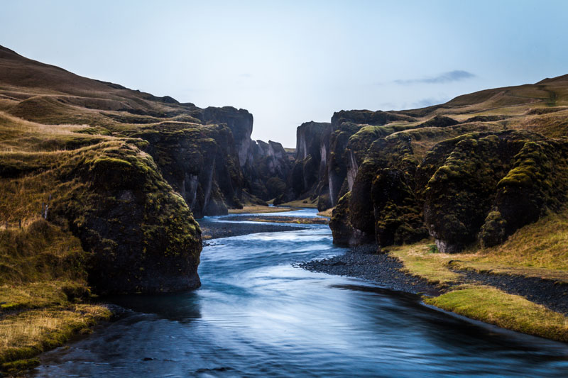 Picture Of The Day Fjadrargljufur Canyon Iceland