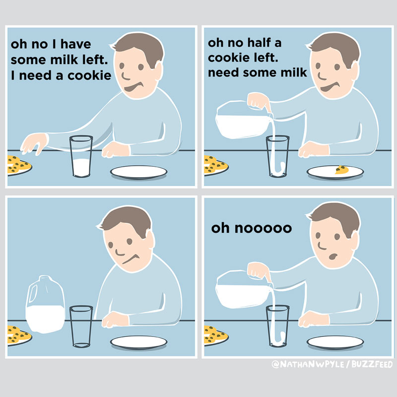 16 funny food comics that hit close to home twistedsifter