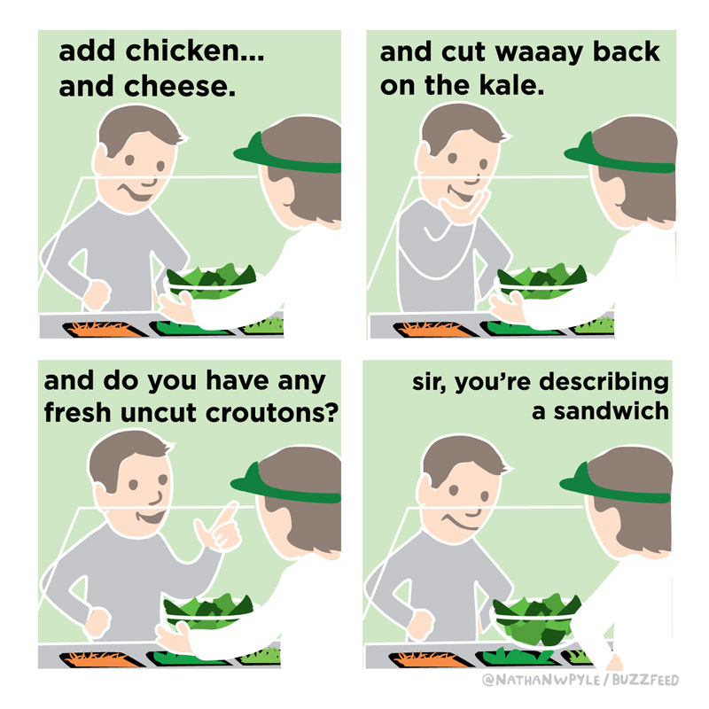 funny food comics by nathan pyle 7 16 Funny Food Comics That Hit Close To Home