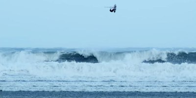 Hurricane Windsurfing Looks As Crazy As ItSounds