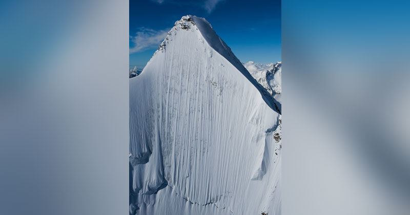 Picture of the Day: If You Look Closely There's a Skier