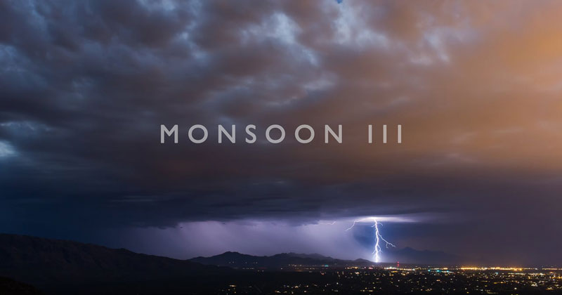 Incredible 4K Timelapses of 2016 Storms in Arizona