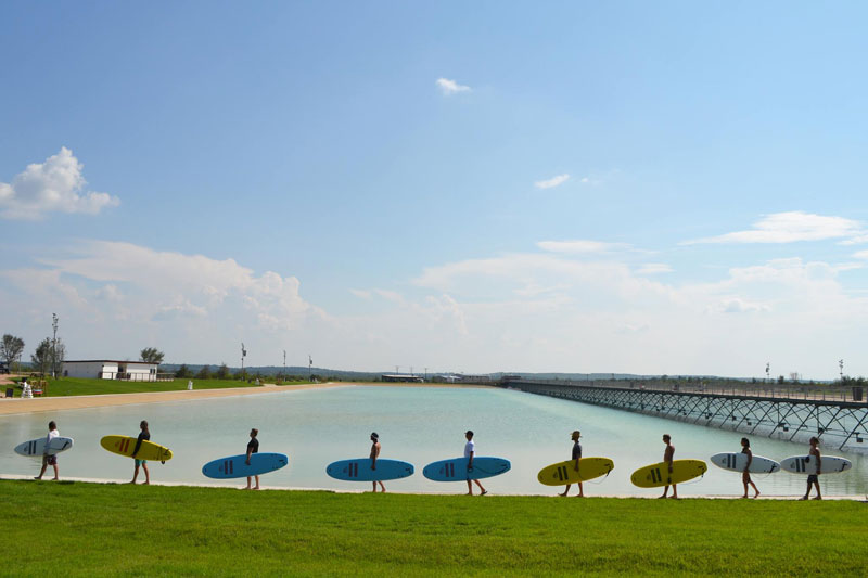 nland surf park austin texas 1 North America's First Man Made Surf Park Opens in Austin, Texas