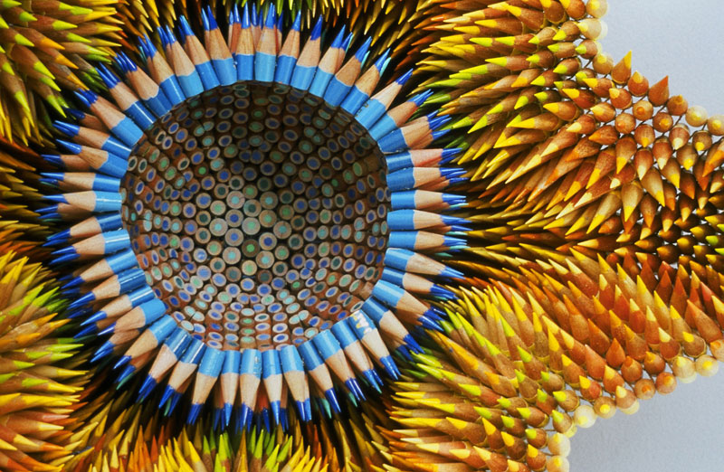 pencil sculptures by jennifer maestre 1 Jennifer Maestre Turns Ordinary Pencils Into Otherworldly Sculptures